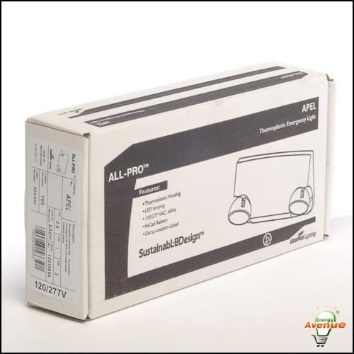 Cooper Lighting CEL7035SD Concealed Emergency Fixture Light CEL Sure-Lite